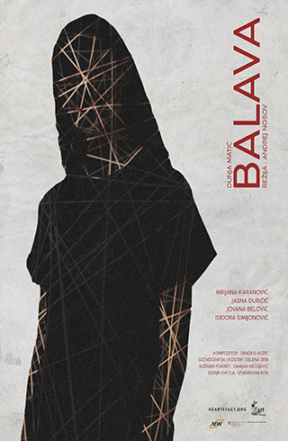 Predstava Balava poster