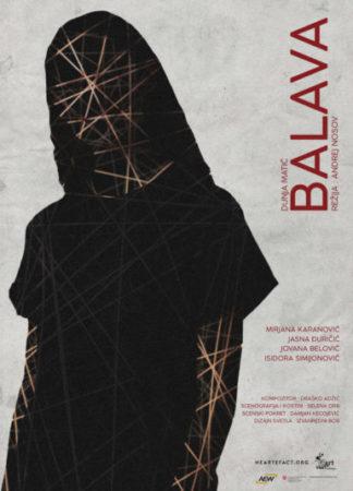 Plakat za predstavu Balava