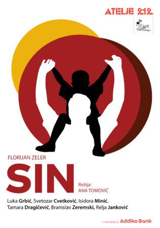 Predstava Sin - Plakat